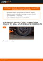 Manual de serviço PEUGEOT 407