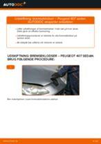 Manuel PDF til vedligeholdelse af 407
