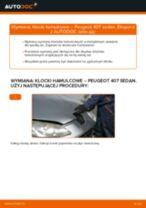 Samodzielna wymiana Zestaw klocków hamulcowych tylne i przednie PEUGEOT - online instrukcje pdf