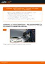 Dowiedz się jak rozwiązać problemy z Klocki Hamulcowe przednie i tylne PEUGEOT