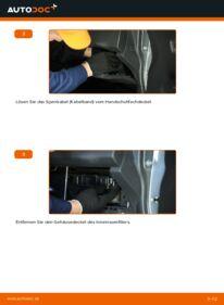 Wie der Wechsel durchführt wird: Innenraumfilter 1.3 (RS 413) Suzuki Swift 3 tauschen