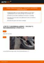 Byta Stötdämparfäste VW GOLF: gratis pdf