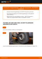 Wechseln von Stabilisatorstrebe VW TRANSPORTER: PDF kostenlos