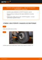 Odporúčania od automechanikov k výmene VW VW T4 Transporter 2.4 D Lozisko kolesa
