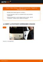 Autószerelői ajánlások - VW T4 Transporter 2.4 D Váltóolaj cseréje