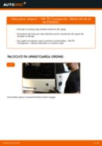 Recomandările mecanicului auto cu privire la înlocuirea VW VW T5 Van 2.5 TDI 4motion Filtru combustibil