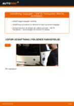 Udskift baglygter - VW T5 Transporter | Brugeranvisning