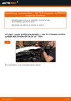 Udskift bremsekaliber bag - VW T5 Transporter | Brugeranvisning