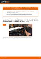 Come cambiare pinza de freno della parte posteriore su VW T5 Transporter - Guida alla sostituzione