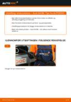DIY-manual for utskifting av ABS Sensor i AUDI A6 2020