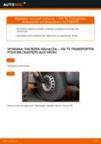 Jak wymienić sworzeń wahacza przód w VW T5 Transporter - poradnik naprawy