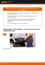 Cum să schimbați: filtru polen la Audi A4 B6   Ghid de înlocuire