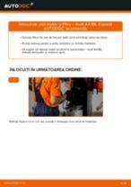 Schimbare Filtru ulei AUDI A4: pdf gratuit