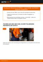 Wie Benzinfilter Diesel + Benzin beim AUDI A4 (8E2, B6) wechseln - Handbuch online