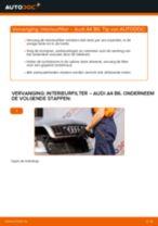 Hoe interieurfilter vervangen bij een Audi A4 B6 – vervangingshandleiding