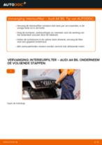 Hoe interieurfilter vervangen bij een Audi A4 B6 – Leidraad voor bij het vervangen
