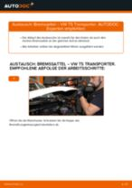 Bremssattel hinten selber wechseln: VW T5 Transporter - Austauschanleitung