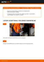 MANN-FILTER WK 853/3 x til A4 Sedan (8E2, B6) | PDF udskiftnings guide