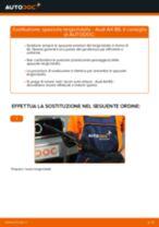 Cambio Spazzole tergicristallo istruzioni pdf per AUDI A4
