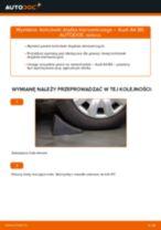 Poradnik online na temat tego, jak wymienić Końcówka drążka kierownicy w AUDI A4 (8E2, B6)