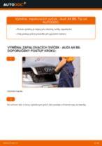 Doporučení od automechaniků k výměně AUDI Audi A4 B8 Sedan 1.8 TFSI Klinovy zebrovany remen