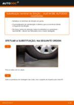 Como mudar terminal de direção em Audi A4 B6 - guia de substituição