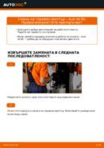 AUDI Q3 ръководство за ремонт и отстраняване на неизправности