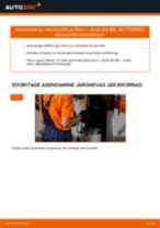 AUDI Õlifilter vahetamine DIY - online käsiraamatute pdf