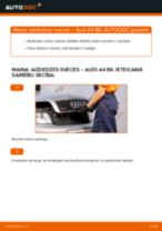 Kā nomainīt: aizdedzes sveces Audi A4 B6 - nomaiņas ceļvedis