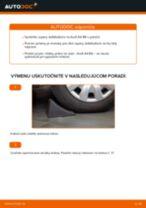 Výmena Spojovacia tyč AUDI A4: dielenská príručka