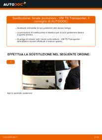 Come effettuare una sostituzione di Fanale Posteriore su VW ? Dai un'occhiata alla nostra guida dettagliata e scopri come farlo