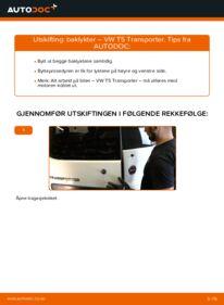 Slik bytter du Baklykter på VW TRANSPORTER