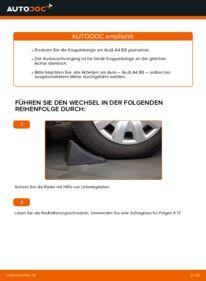Wie der Wechsel durchführt wird: Koppelstange 1.9 TDI Audi A4 B6 tauschen