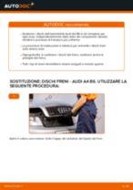 Come cambiare dischi freno della parte anteriore su Audi A4 B6 - Guida alla sostituzione