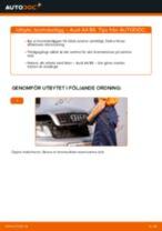 Montering Bromsklotsar AUDI A4 (8E2, B6) - steg-för-steg-guide