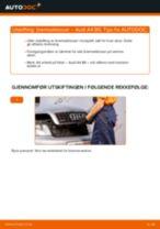Slik bytter du bremseklosser fremme på en Audi A4 B6 – veiledning