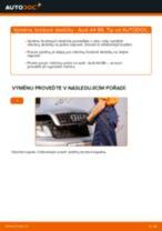 Jak vyměnit přední a zadní Brzdové Destičky AUDI udělej si sám - online návody pdf