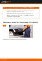 Avtomehanična priporočil za zamenjavo AUDI Audi A4 B7 Sedan 1.9 TDI Komplet (kit) zobatega jermena