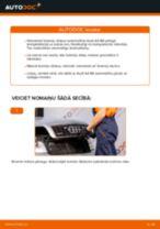 Kā nomainīt: aizmugures bremžu diskus Audi A4 B6 - nomaiņas ceļvedis