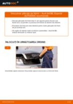 Montare Placute Frana AUDI A4 (8E2, B6) - tutoriale pas cu pas