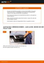 Wie Audi A4 B6 Bremsscheiben vorne wechseln - Anleitung
