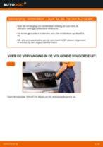 Ontdek hoe u AUDI Remblokken vóór en achter kunt oplossen
