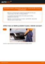 Comment changer : plaquettes de frein avant sur Audi A4 B6 - Guide de remplacement