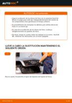 Cómo cambiar: discos de freno de la parte trasera - Audi A4 B6 | Guía de sustitución