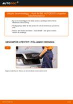 Byta bromsbelägg bak på Audi A4 B6 – utbytesguide
