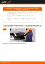 Bytte Bremsekloss bak og foran AUDI gjør-det-selv - manualer pdf på nett