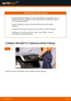 Jak vyměnit zadní a přední Kotouče AUDI A4 (8E2, B6) - manuály online