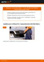 Spletni priročnik kako zamenjati Zavorne Ploščice na AUDI A4 (8E2, B6)