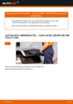 Wie Audi A4 B6 Bremssattel vorne wechseln - Schritt für Schritt Anleitung