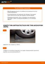 Πώς να αλλάξετε ρουλεμάν τροχού εμπρός σε Audi A4 B6 - Οδηγίες αντικατάστασης